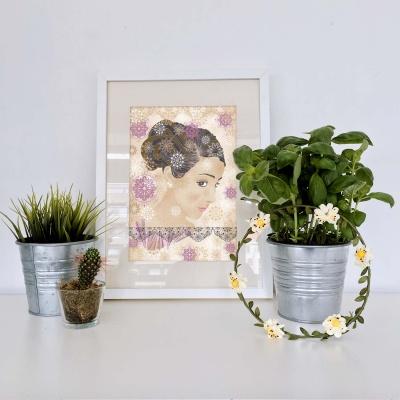 decoracao-poster-flordodeserto