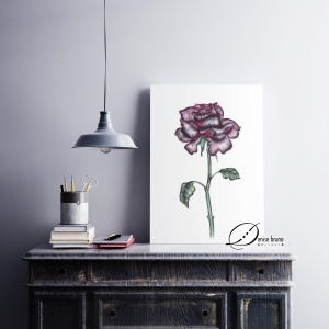 decoracao-poster-rosagotica