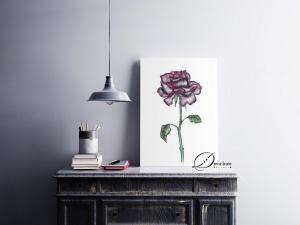 decoracao-poster-rosagotica
