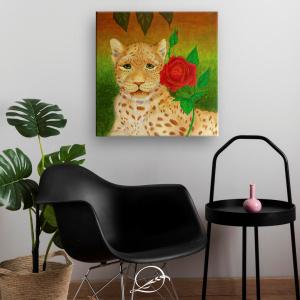 meiga-rosa-quadro-decorativo-simulacaonoambiente