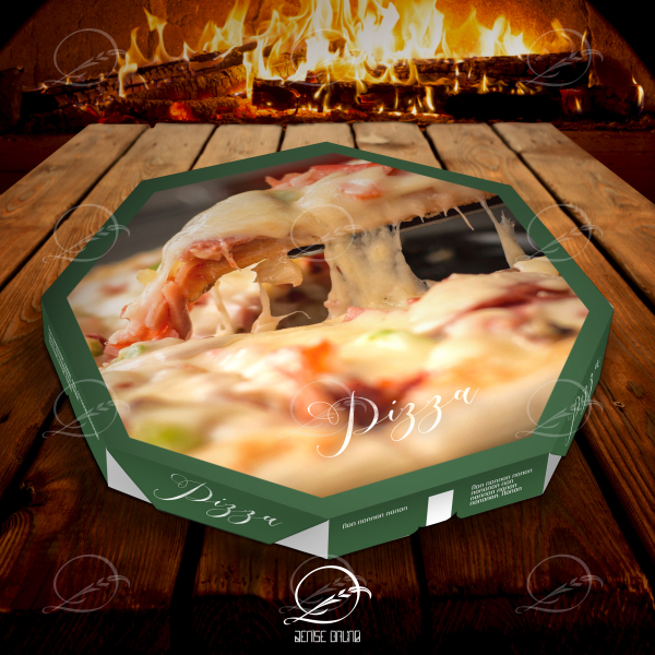 Mockup caixa de pizza