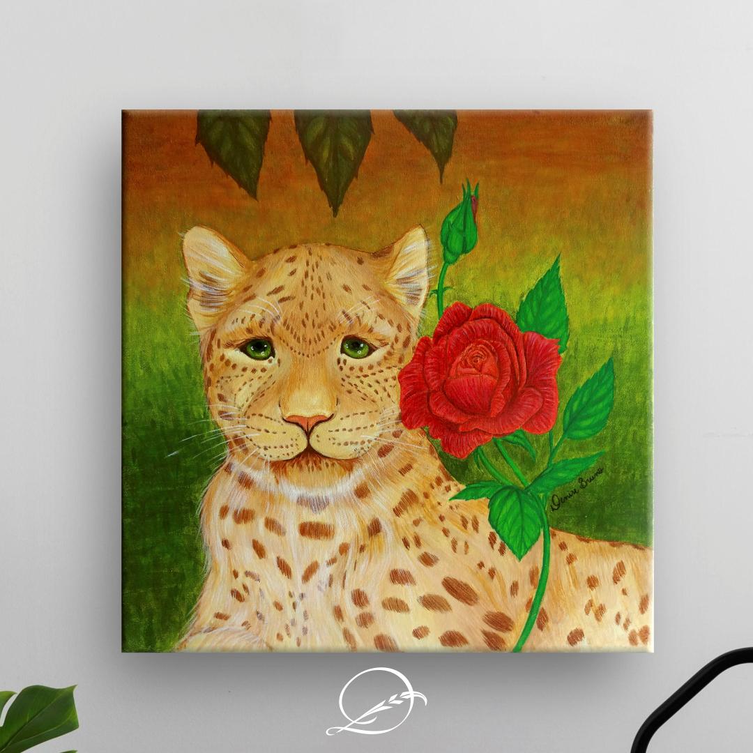 Meiga Rosa – a onça pintada